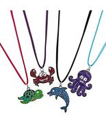 Rhode Island Novelty 16 Inch Sea Life Necklace - Pack of 12 - $15.22