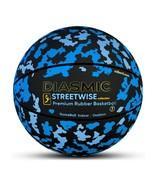 Millenti Diasmic Street Wise Indoor Outdoor Basketball-Camo Blue (OPEN BOX) - $18.51