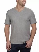 Calvin Klein Men's V-Neck Lifestyle Short Sleeve Tee, Light Gray Heather... - £10.95 GBP