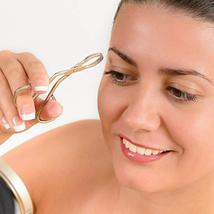 3 Pack Eyebrow Tweezers, Scissors Shaped Eyebrow Straight Tip Tweezers Clip, Fla image 3