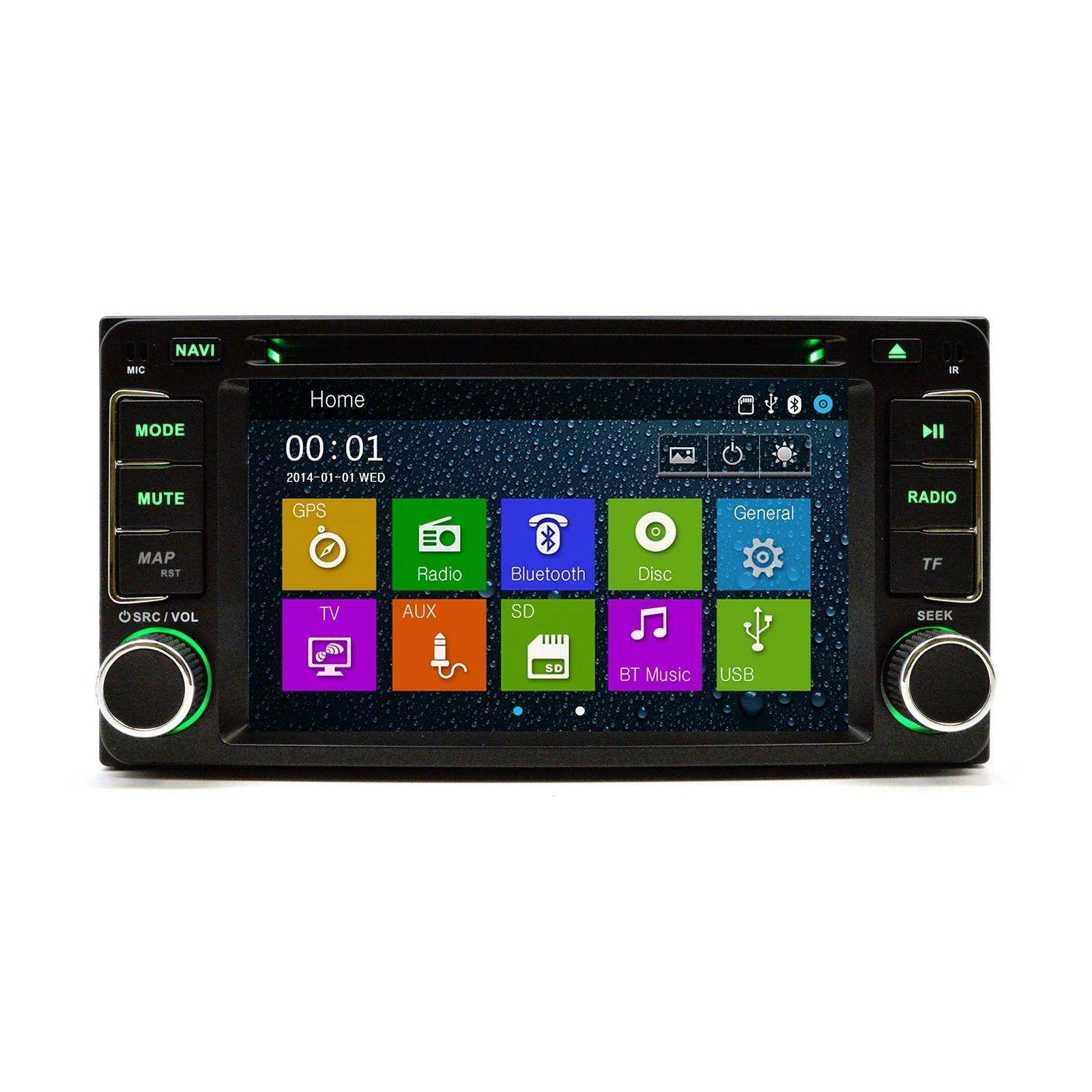 Most Advance Scion Toyota OE FITMENT DVD Player Navigation Radio w Bluetooth