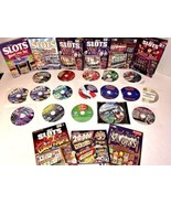Slot Games/Other Games Lot of 26 CDs/DVDs - $64.01