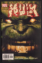 Hulk #50 SIGNED Mike Deodato Jr Comic Art / Story by Bruce Jones / Marve... - $19.79