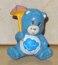 1984 Kenner Care Bears Grumpy Bear Mini Pvc Figure Vintage 80's #3 - $14.00