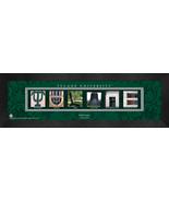 Personalized Tulane University Campus Letter Art Framed Print - $39.95
