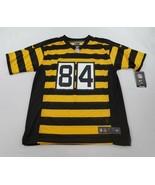 new NIKE youth jersey NFL STEELERS 84 Brown Antonio yellow black sz L 14-16 - $38.81