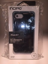 INCIPO iPhone 6,6s,7 & 8 NEW & SEALED Dual Layer UV Scratch Res Phone Ca... - $12.86