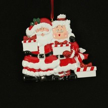 Mr. & Mrs. Santa 2 3 4 5 6 7 Gifts Personalized Christmas Ornament Kit - $14.95