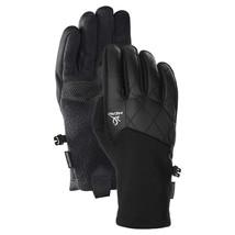 Head Damen Schwarz Hybrid Sensatec Touchscreen Laufen Handschuhe Größe S Nwt