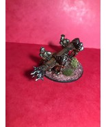 LOTR 28 MM METAL WELL PAINTED URUK HAI BATTERING RAM BY GAMES WORKSHOP ! - $82.91