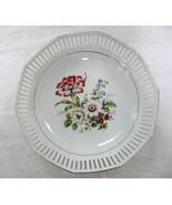 "Bavaria Schwarzenhammer Germany Floral Fine China 9"" Bowl Plate - $45.95"