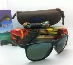 New! MAUI JIM VOYAGER Sunglasses MJ 178-02 Black Frames w/ Grey Polarize... - $219.00