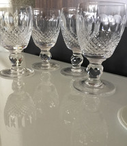 Set 4 Waterford Crystal Colleen Cordial Glasses Short Stem Ireland Vtg M... - $116.82