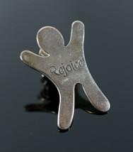 Vintage .925 Sterling Silver JOAM Phil 4:4 Rejoice Praise God Brooch Pin... - $17.81