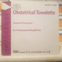 Hygea Obstetrical Towlette Cleanser Deodorant Wipes 100 Per Box  - $14.15