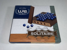 WE Games Wood Solitaire 2007 New Sealed - $17.82