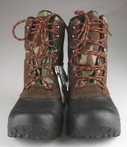 Goodfellow Co Case Mens Brown Camo Leather Textile Faux Fur Chucka Winter Boots image 2
