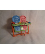 Fisher Price Loving Family Dollhouse Twins High Chair Furniture - $7.18
