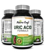 Uric Acid Kidney Support Vitamins for Men and Women Herbal Cleanse Detox... - $21.99