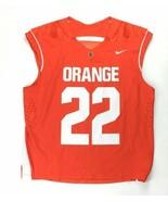 Nike Syracuse Orange Men's Large Sleeveless Lacrosse Jersey #22 636009 - $44.55