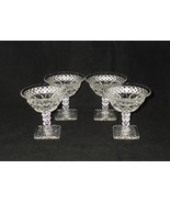 Westmoreland Waterford Elegant Glass Champagnes or Tall Sherbets ~ Set of 4 - $32.00