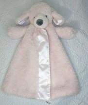 Baby Gund Fluffey Huggybuddy Pink Puppy Dog Security Blanket Lovey - $24.97