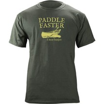 Paddle Faster I Hear Banjos Deliverance 80's Style T-Shirt - $20.78+