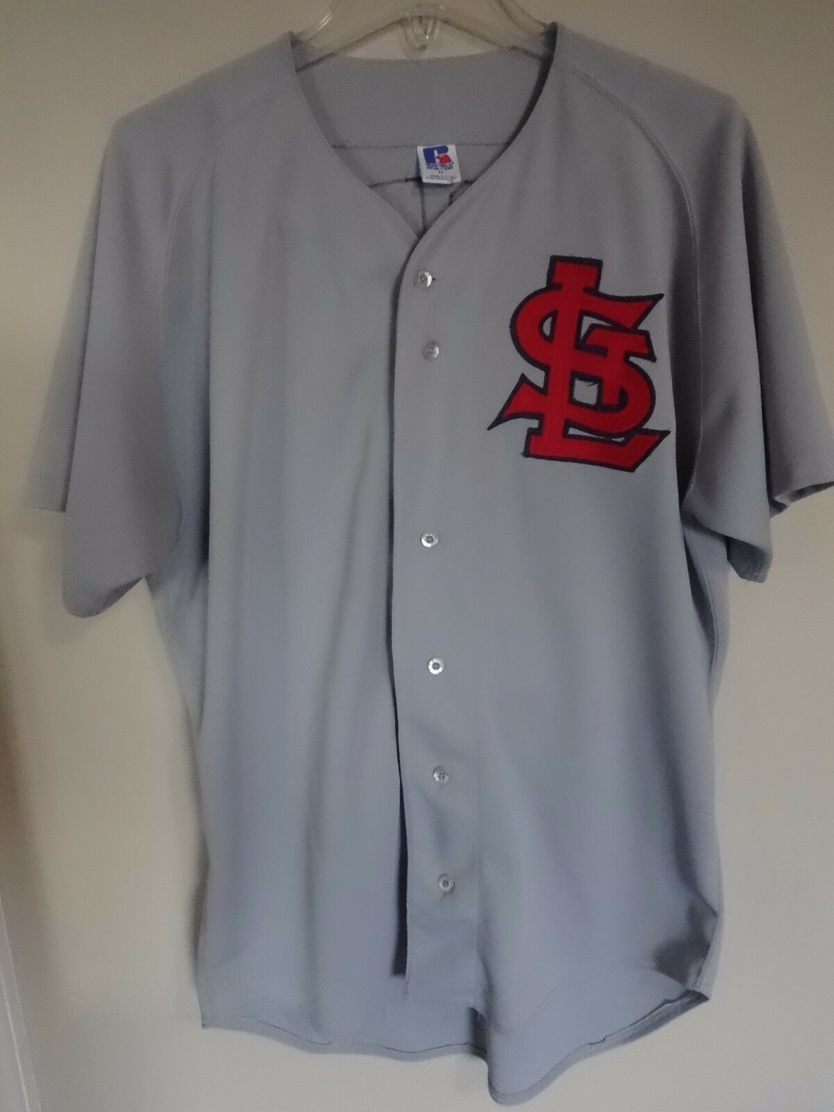 Vintage Russell Athletic St. Louis Cardinals Mark McGwire Premium Jersey Men 44