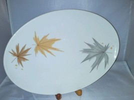 Iroquois Harvest Time Ben Seibel Informal China 12 Inch Platter Made In USA - $13.59