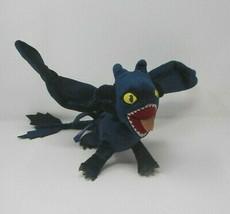 Dreamworks How To Train Your Dragon Toothless Night Fury Plush Stuffed Animal - $23.38