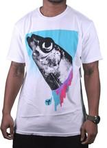 WeSC Uomo We Are Superlative Conspiracy Bianco Svedese Herring T-Shirt Nwt