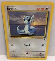 Dratini 38/130 Pokemon Card Wizards TCG Original Base Set 2 NM Great Condition - $2.16