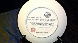 The Storyteller by  Norman Rockwell Plate with Box ( Knowles ) AA20CP2176 image 4