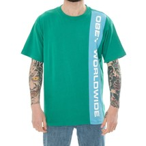 MAN T-SHIRT OBEY WORLDWIDE CLASSIC TEE SS 131080237 SHORT SLEEVES MEN TR... - $62.89