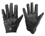 Outdoor Leather Gloves Protective Armor For Motorcycle Bicycle Racing Riding