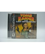 Tomb Raider: The Last Revelation (PS1 Sony Playstation) Original Case an... - $14.50