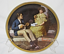 Pondering On The Porch by Norman Rockwell Rediscovered Women Collector P... - $3.99