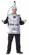 Beer Keg Costume Adult Alcohol Halloween Party Unique Cheap FW5446 - £49.81 GBP