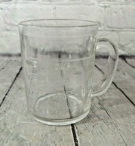 Vintage Clear Glass 1 Cup Measuring Cup Embossed, Anchor Hocking?? - $19.79
