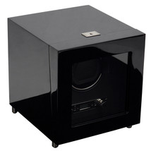 WOLF 2.7 Savoy Single Automatic Watch Winder Battery Operated Black - $549.00