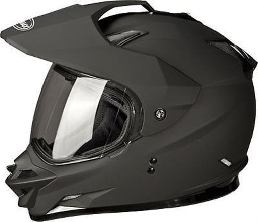 New XS GMax GM11S Flat Black w/Electric Shield Snow Sport Snowmobile DOT