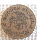 "Wooden Nickel From: ""Grant County Golden Jubilee"" - (sku#4975) - $7.50"