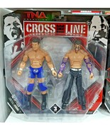 TNA Wrestling Jeff Hardy Vs. AJ Styles Cross The Line 2 Rare Set Figure UFC - $49.16