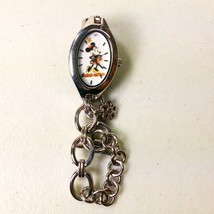 Disney Store Womens Minnie Mouse Watch Wristwatch Chain Band Japanese Movement - $12.99