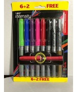New Bic Intensity Permanent Markers 8 Total - $20.03