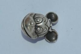 Vintage Disney's Mickey Mouse Charm 925 Sterling Silver Bracelet Charm - $6.76