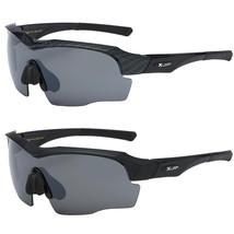 Sport Wrap Anti Glare Hd Day Driving Vision Mens Sunglasses Large Glasses - $8.90