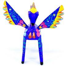 Handmade Alebrijes Oaxacan Wood Carving Painted Folk Art Pegasus Horse Figurine image 6