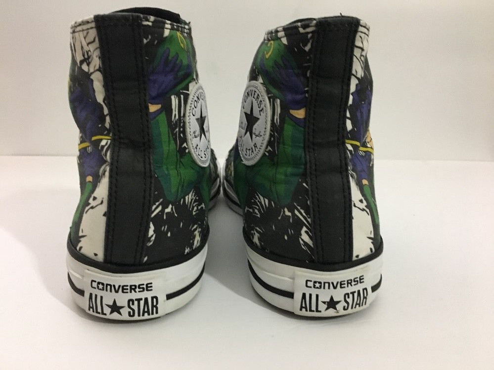964a288236e8 Converse The Riddler High Top Tennis Shoes Men s sz 9 DC Comics batman