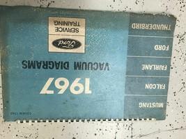 1967 Ford Mustang Thunderbird Falcon Fairlane Electrical Wiring Diagram ... - $79.15